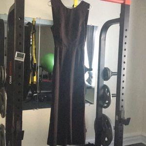 Black jumpsuit with keyhole